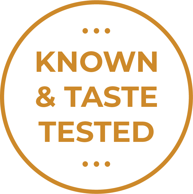 Known & Taste Tested
